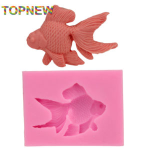 Goldfish 3D Fondant Cake Soap Sugar Craft Tools