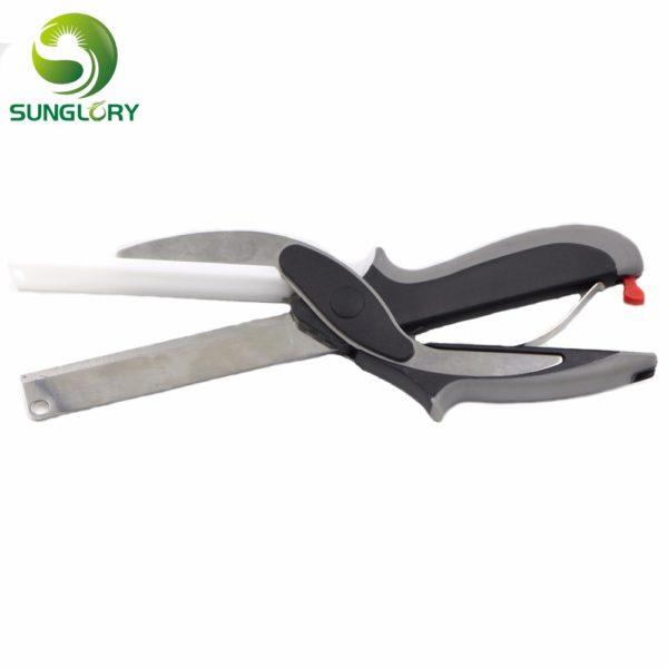 New 2 IN 1 Smart Cutter Kitchen Knife Board