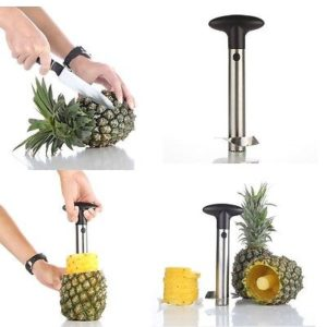 Pineapple Corer Cutter Peeler Stainless Steel