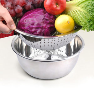 Thickening Stainless Steel Leakage Basin Pot