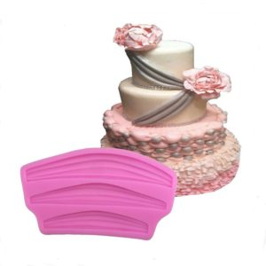 Silk Ribbon Curtain Satin Curtains Fondant Cake Decorating Tools