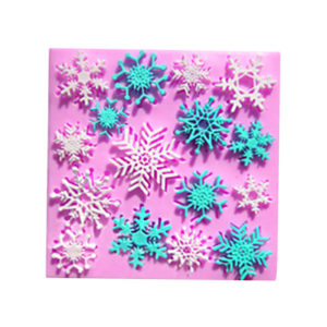 Snowflake Design for cake decorating tools