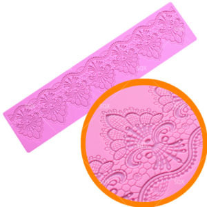 Lace Mat Silicone Mold Sugar Craft Fondant Cake