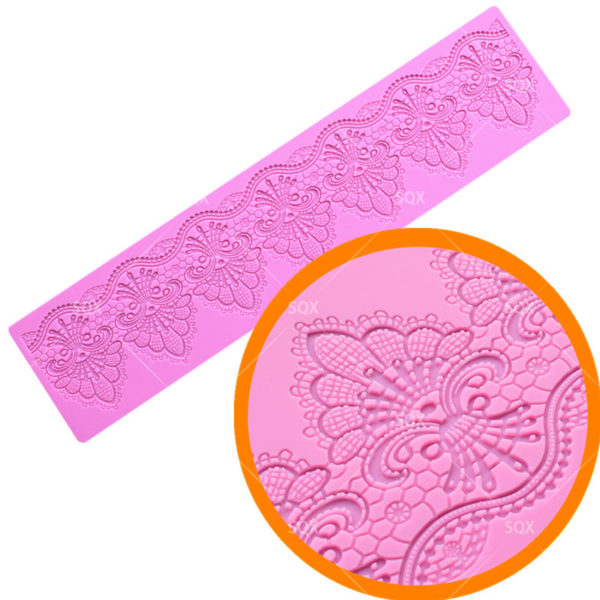 Lace Mat Silicone Mold Sugar Craft Fondant Cake