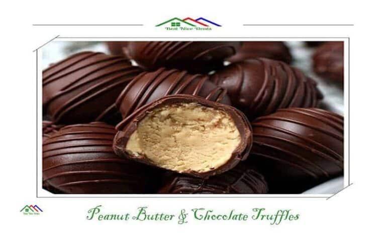 Best Nice Deals Peanut Butter and Chocolate Truffles https://www.bestnicedeals.com/peanut-butter-and-chocolate-truffles/
