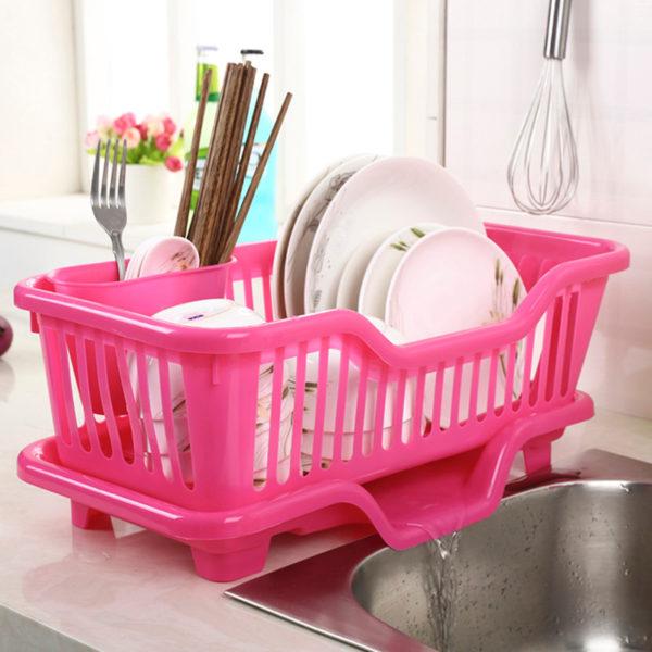 Portable Tableware Storage Great Kitchen Sink Dish Drainer