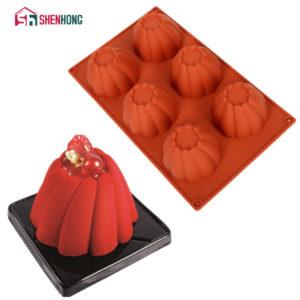 Spiral Cake Mold 3D Non-stick Silicone Mold Art Mousse