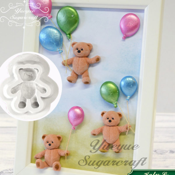 Sugar craft Mini Bear Silicone Mold