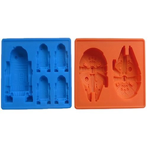 Star Wars Silicone Ice Cube Maker Trays