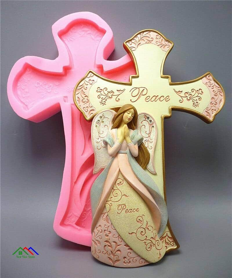 Cross Angel Kitchen Silicone Supernatural Creature Figurine Top Selling Products Kitchen Silicone Molds