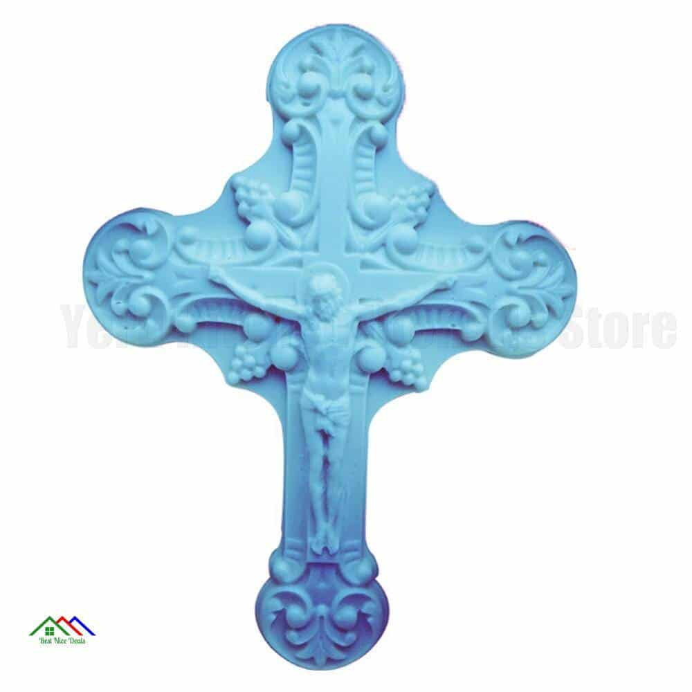 Cross Silicone Cake Decorating Top Selling Products Kitchen Silicone Molds