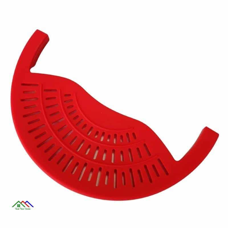 Food Oil Drainer Silicone Colander Top Selling Products Kitchen Colanders