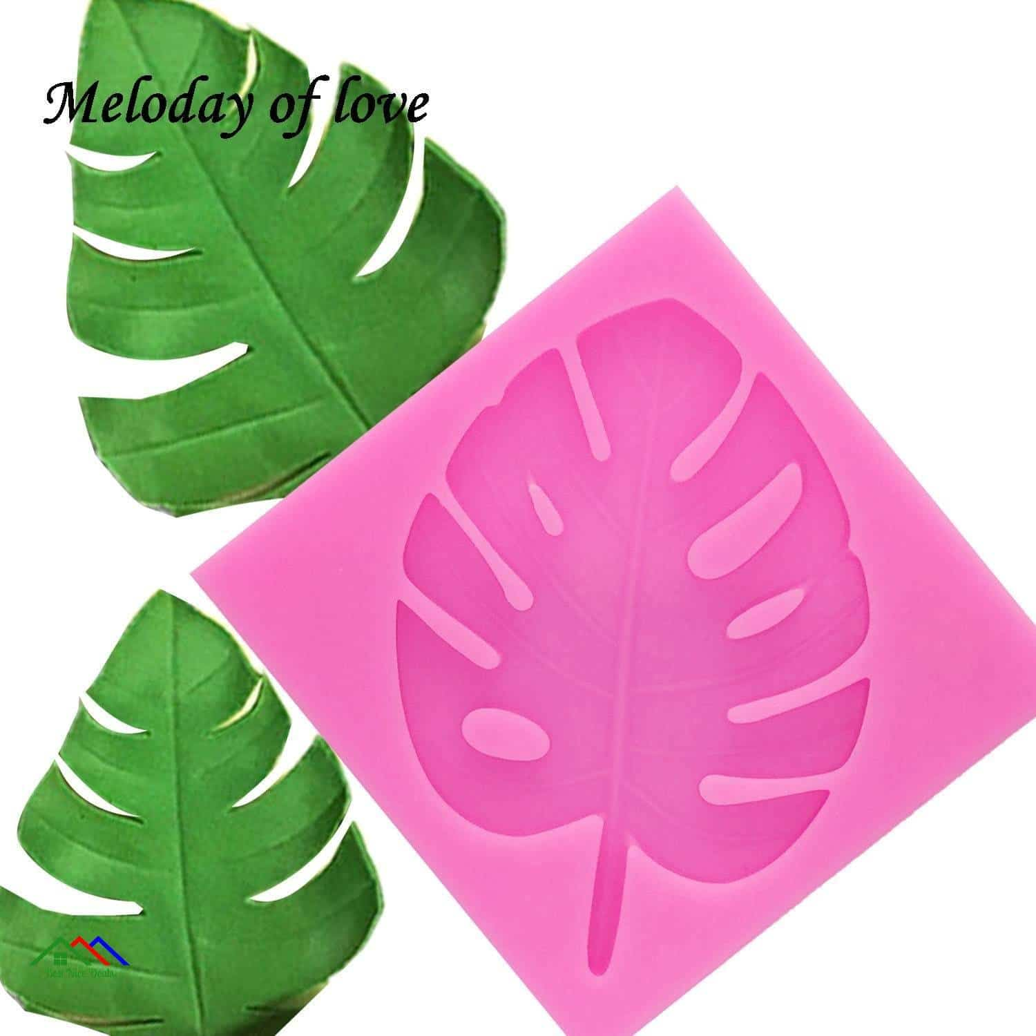3D Tree Leaf Silicone Mold Top Selling Products New Arrivals Kitchen Silicone Molds