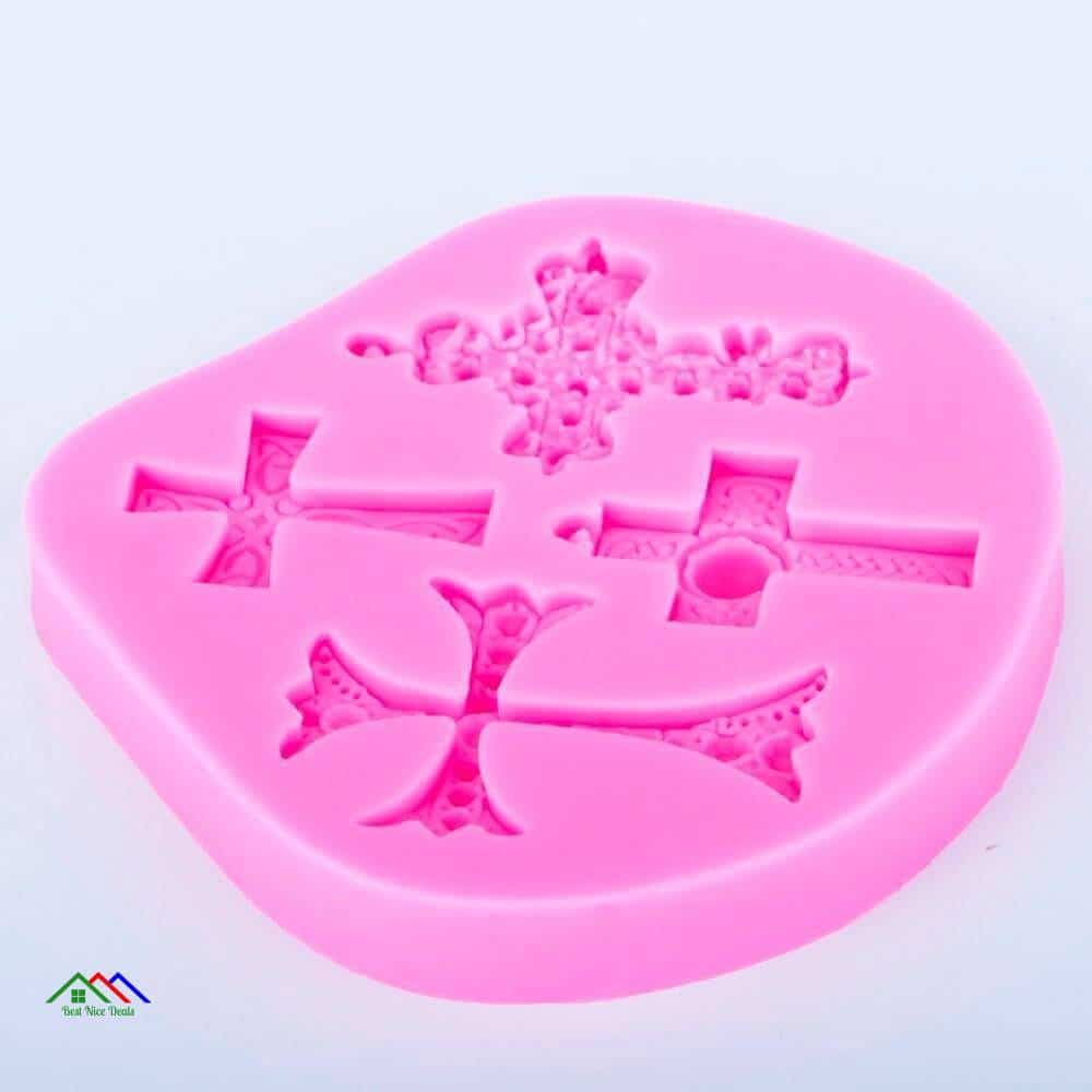 Cross Silicone Fondant Icing Top Selling Products Kitchen Silicone Molds