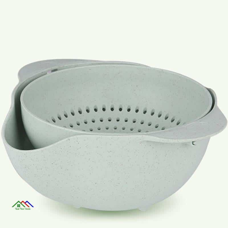 Kitchen Washing Basket Miniature Double Screen Fruits Vegetables Plastic On Sale Kitchen Colanders