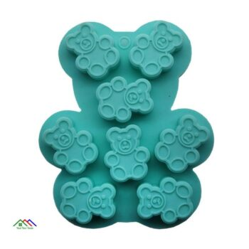 Bear Mold Cookie Chocolate Silicone Fondant Jelly On Sale Kitchen Silicone Molds
