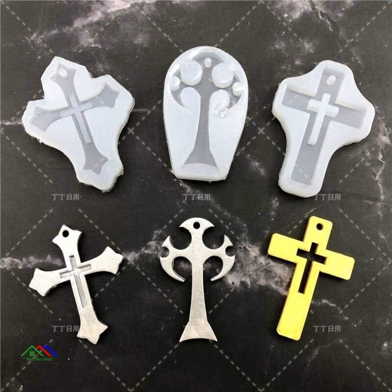Cross Silicone Religious Item New Arrivals Kitchen Silicone Molds