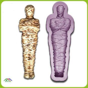 Bone Human Kitchen Silicone Mummy Soap Kitchen Silicone Molds