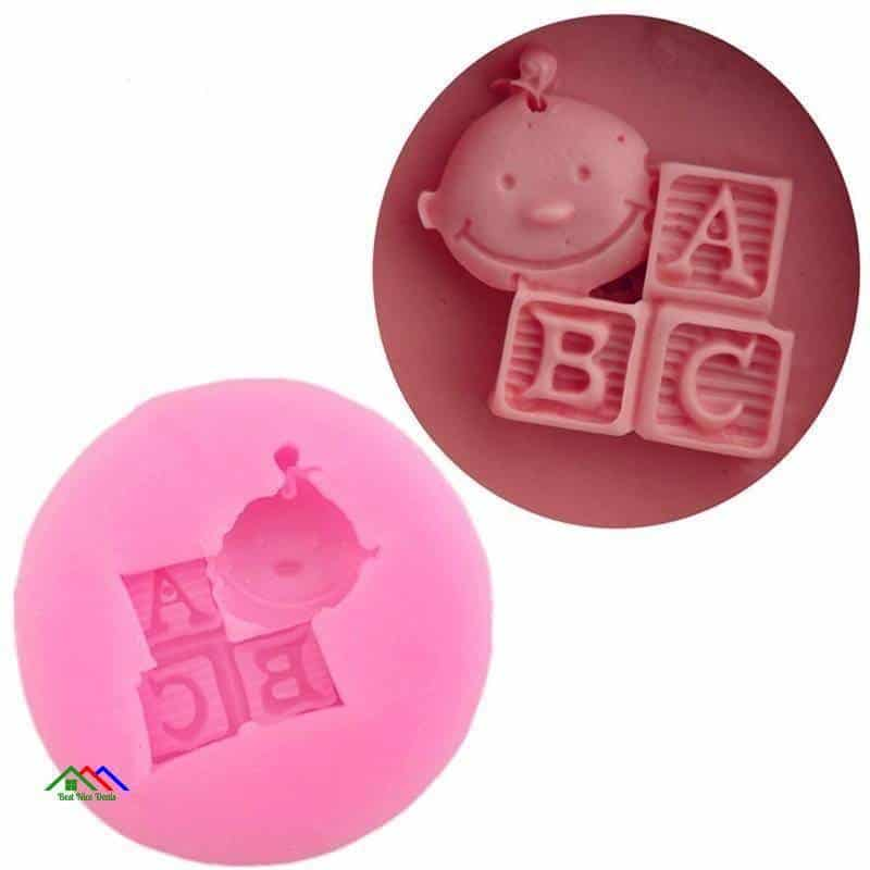 Letter ABC Doll Cake Mold Candy On Sale Kitchen Silicone Molds