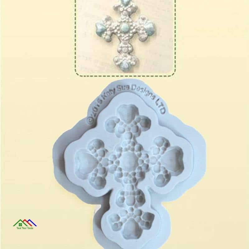 Cross Pattern Silicone Mold DIY Fondant Cake On Sale Kitchen Silicone Molds