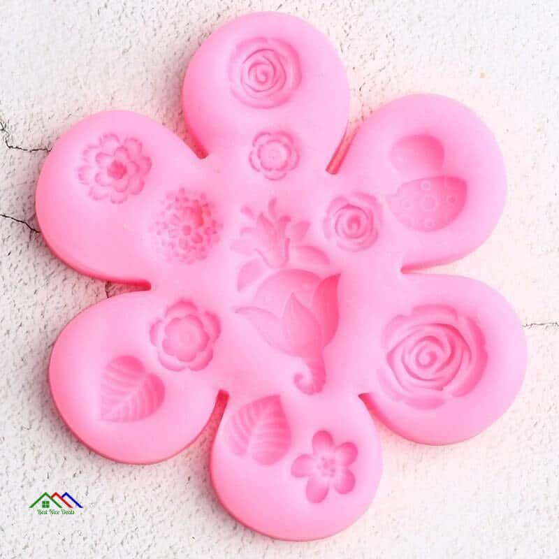 Icing Plant Flower Silicone Cake Decorating On Sale Kitchen Silicone Molds