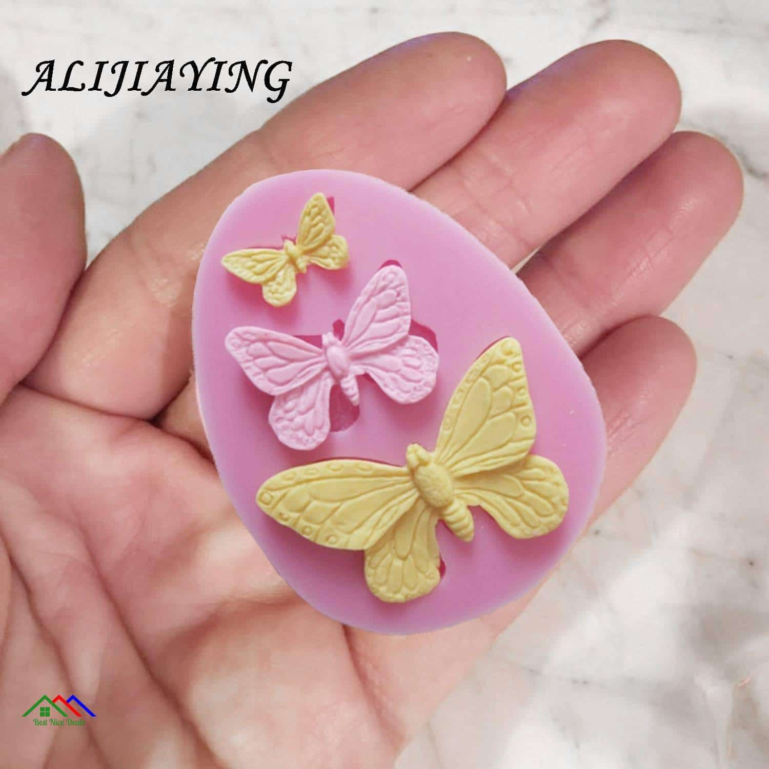 Butterfly Silicone Moths and Butterflies Ribbon On Sale Kitchen Silicone Molds