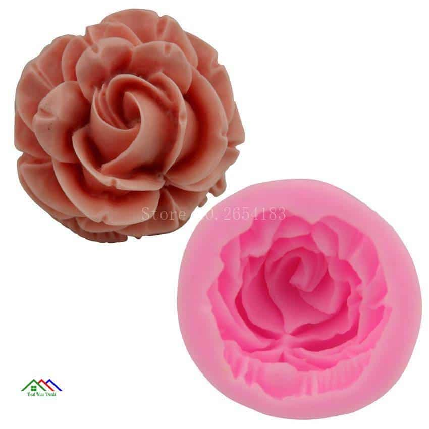 Rose Petal Flower Cake Decorating On Sale Kitchen Silicone Molds