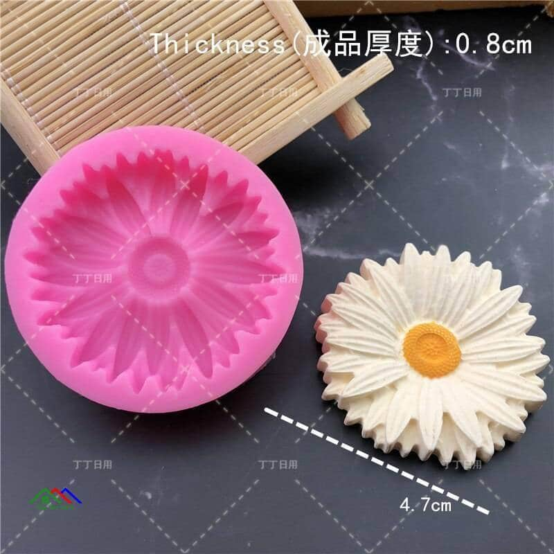 3D Flower Silicone Mold Kitchen Silicone Molds