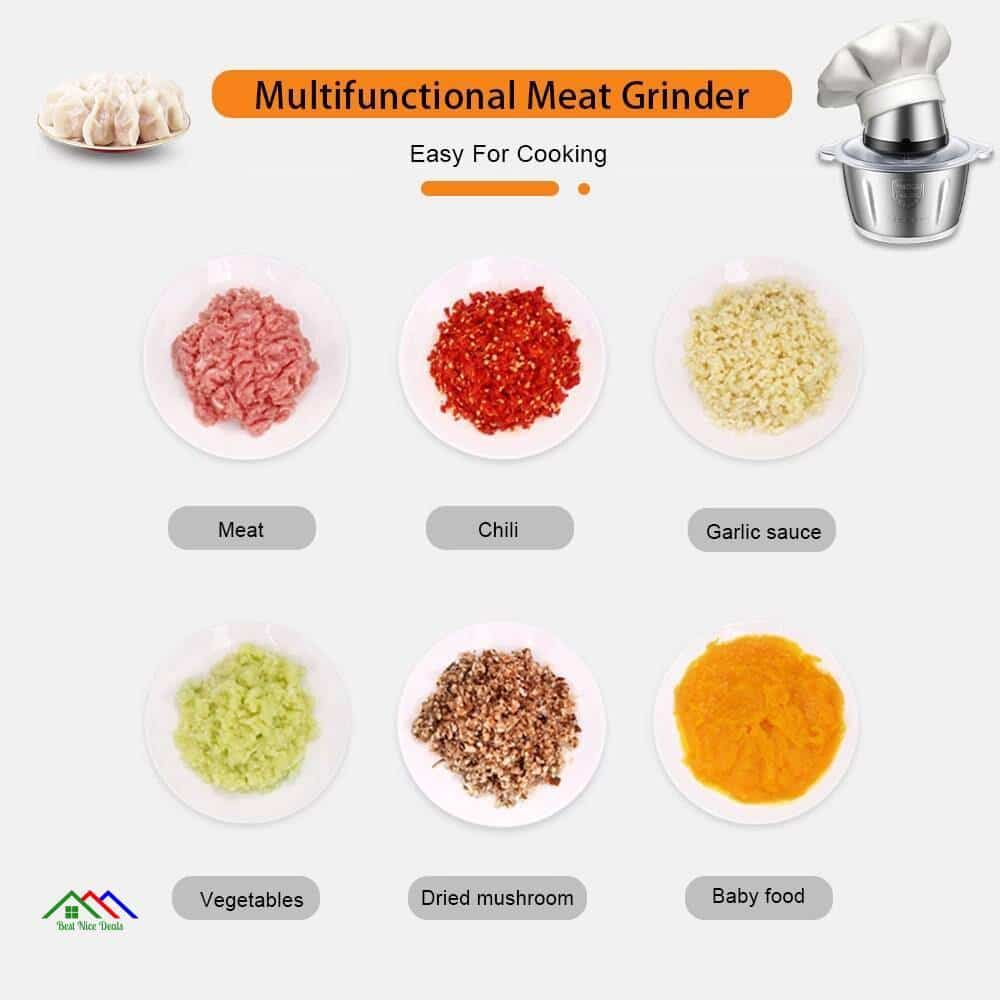 Electric Meat Chopper Grinder Top Selling Products New Arrivals On Sale Kitchen Kitchen Slicers