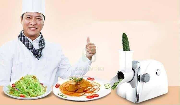 Electric Vegetable Cutter Round Mandoline Slicer Kitchen Kitchen Slicers