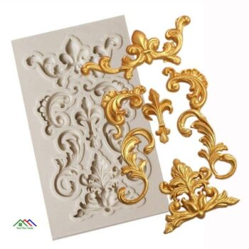 Ornament Ceiling Silicone Mold Cake Decorating Kitchen Silicone Molds