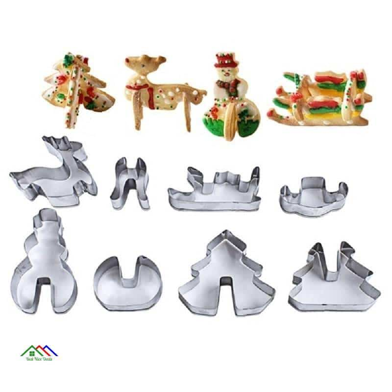 Christmas Day Animal Figure Clip Art Metal Kitchen Kitchen Slicers