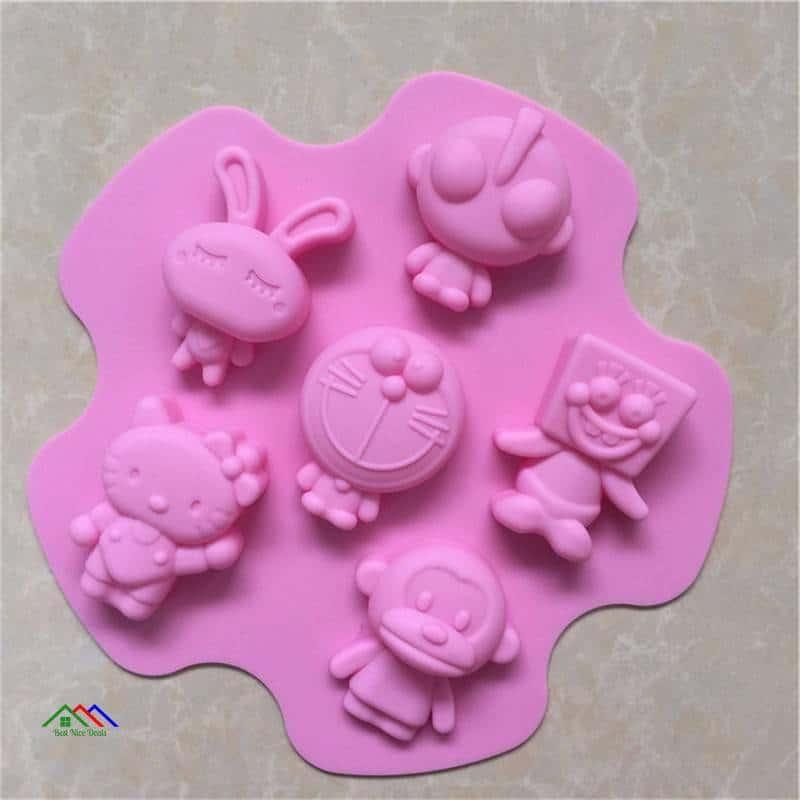 Altman Doraemon Cartoon Cake Mold Kitchen Silicone Molds