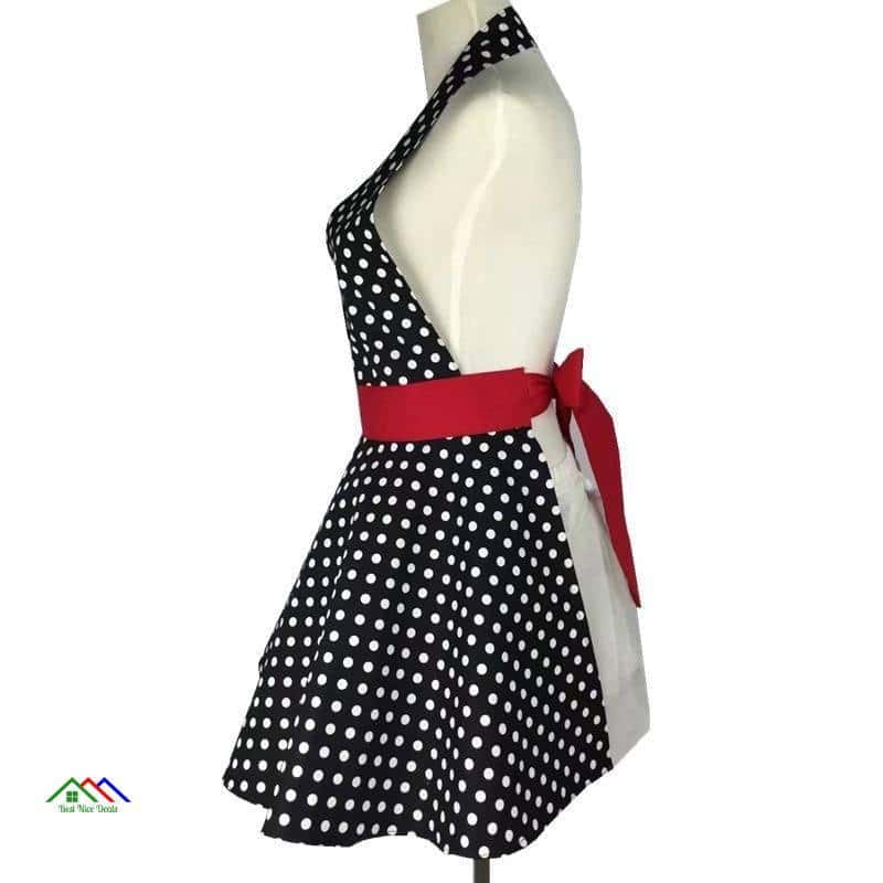 Lovely Retro Apron for Woman Kitchen Aprons