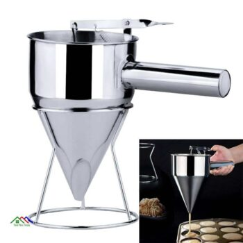 Stainless Steel Piston Funnel Kitchen Colanders
