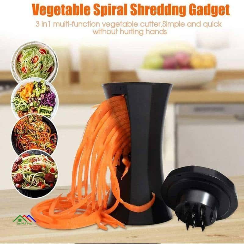 Multifunction Vegetable Spiral Slicer Kitchen Kitchen Slicers