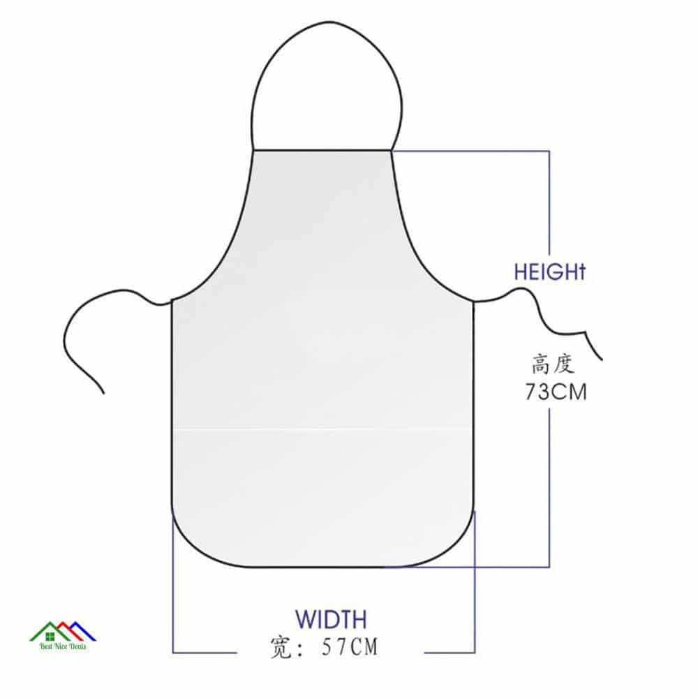 26 Colors Christmas Funny Kitchen Aprons for Woman Xmas Decoration personality Novelty Creative Couple Party Gifts CWQ036 Kitchen Aprons