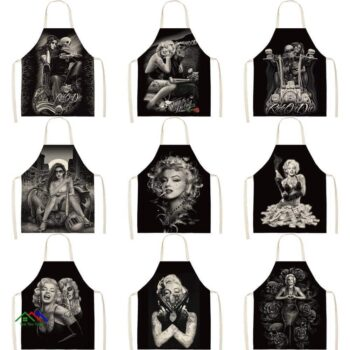 Beautiful Designs Marilyn Monroe Apron Kitchen Aprons