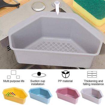 Triangular Kitchen Plastic Strainer Sink Kitchen Colanders