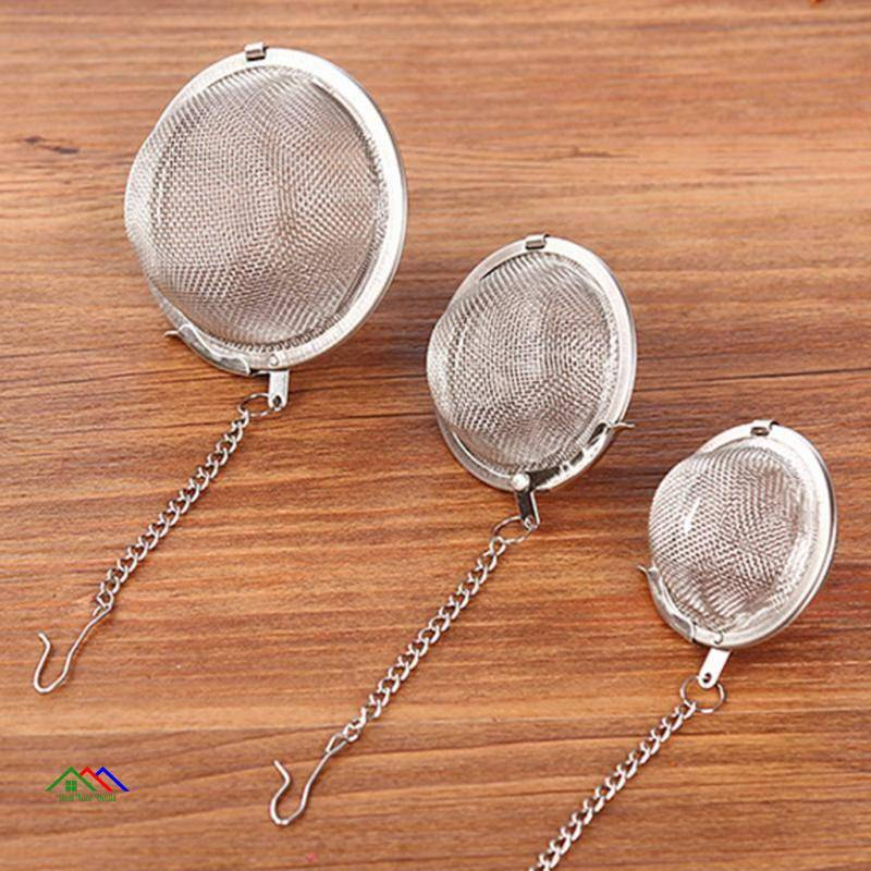 Stainless Steel Seasoning Ball Strainer Mesh Kitchen Colanders