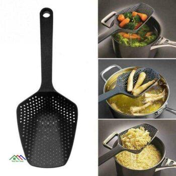 Kitchen Nylon Soup Spoon Skimmer Colander Kitchen Colanders