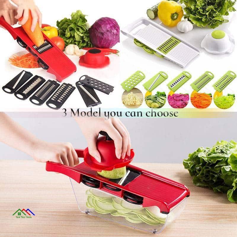 Vegetable Cutter With Steel Blade Mandoline Kitchen Kitchen Slicers