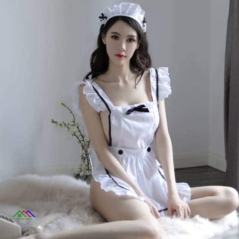 Sexy Maid Dress Apron Kitchen Aprons