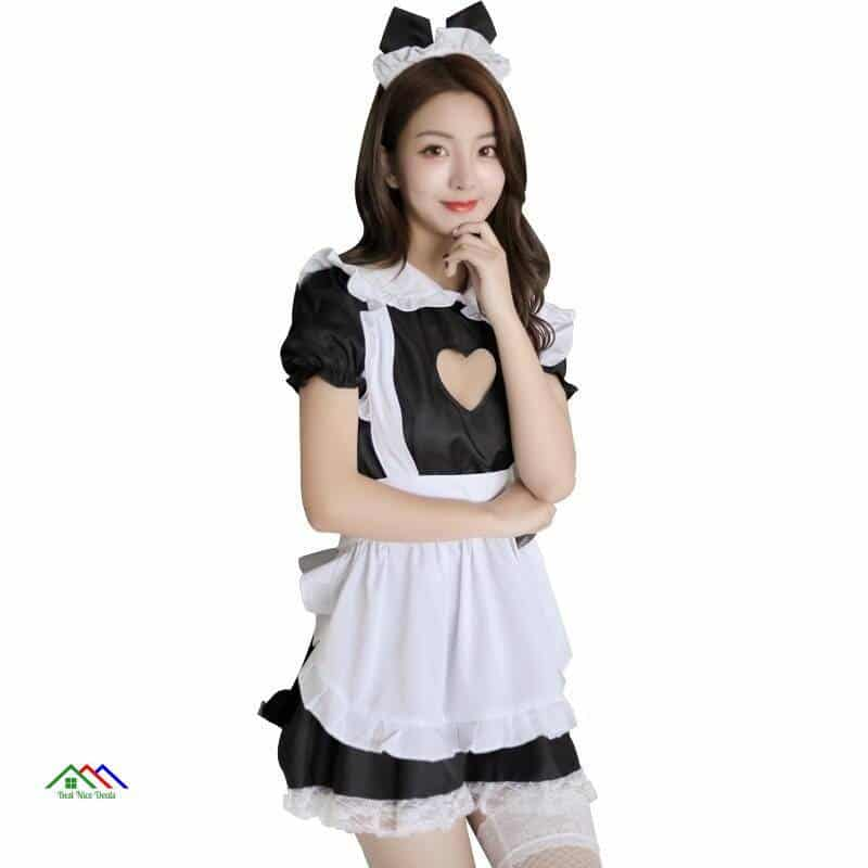 Household Maid Apron Dress On Sale Kitchen Aprons
