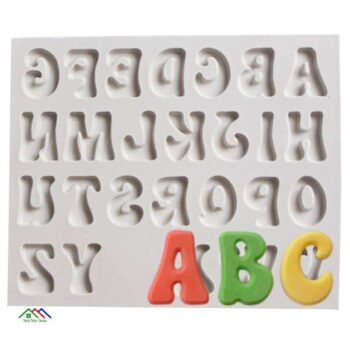 Capital Small Letter Number Silicone Mold On Sale Kitchen Silicone Molds