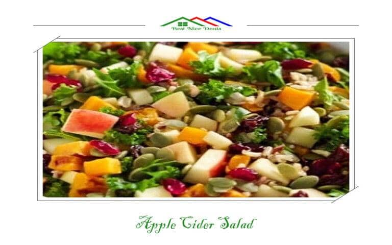 Best Nice Deals Apple Cider Salad https://www.bestnicedeals.com/apple-cider-salad/