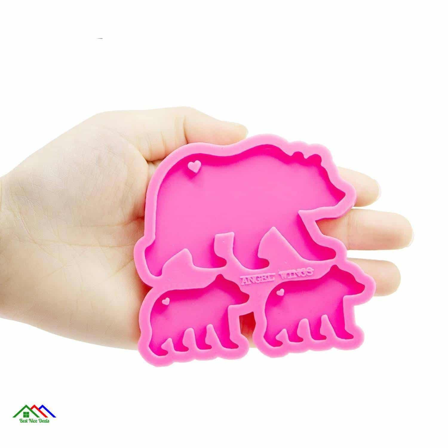 Baby Mother Bear Silicone Mold Shape Kitchen Silicone Molds
