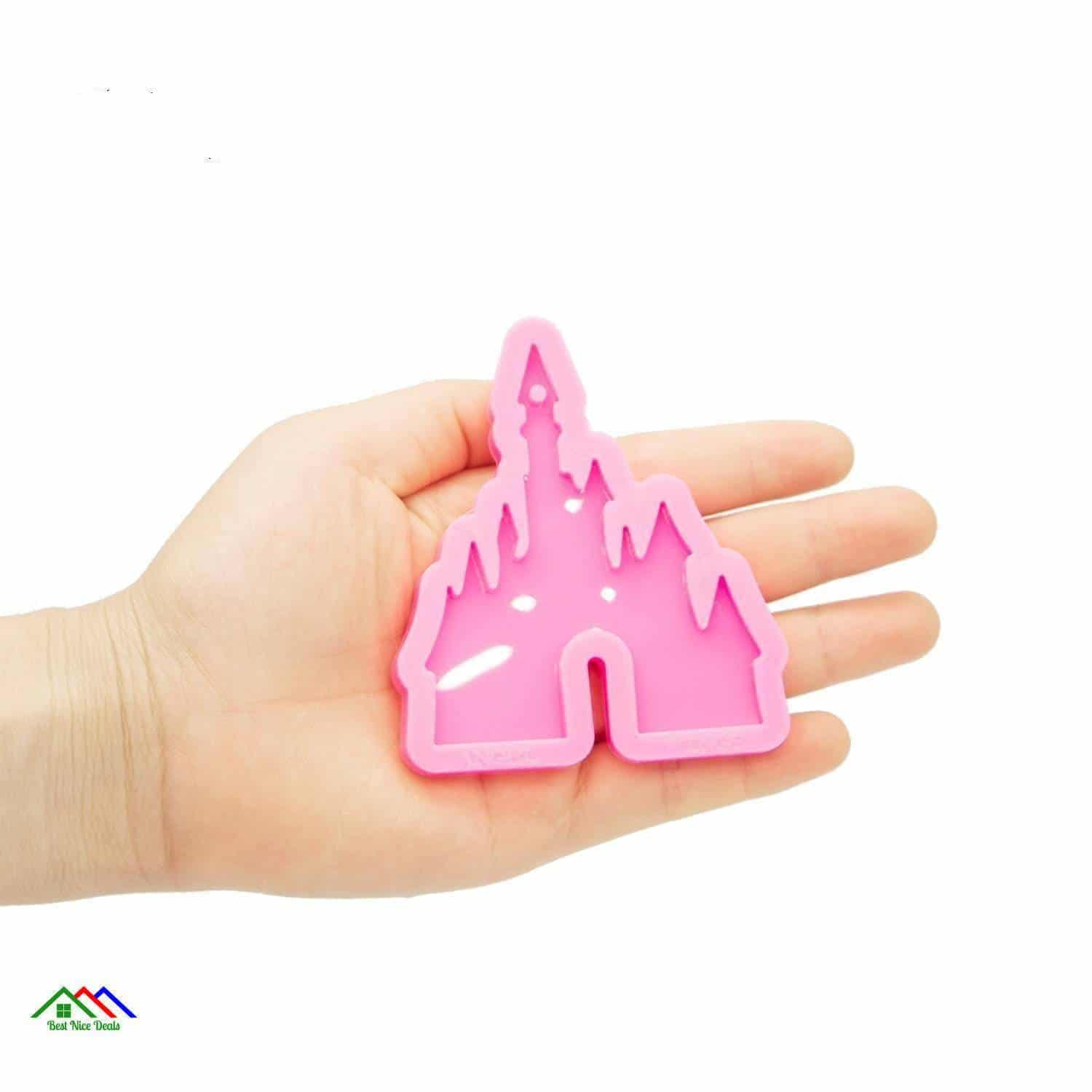 Castle Silicone Mold Shape Kitchen Silicone Molds