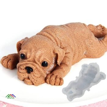 3D Cute Dog Silicone Mold Shape Top Selling Products New Arrivals On Sale Kitchen Silicone Molds