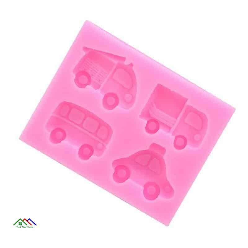 Car Silicone Mold Fondant Shape On Sale Kitchen Silicone Molds